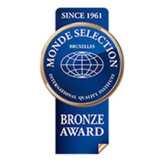 "Bronze Medal ""Monde Selection 2016"""