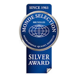 """Medalla de Plata """"Monde Selection 2015"""""""