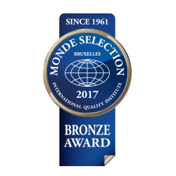 Monde Selection  – Bronze Medal 2017
