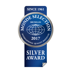Monde Selection – Silver Medal 2017