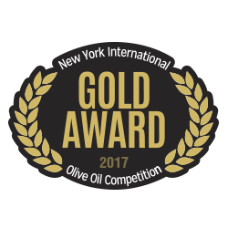 New York Olive Oil Competition – Medalla de oro 2017