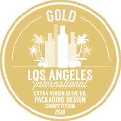 "Medalla de Oro "" Los Angeles International Olive Oil Competition2018″"