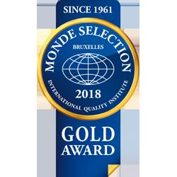 Monde Selection – Medalla de Oro 2018