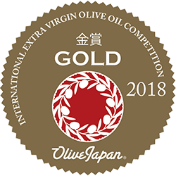 "Medalla de Oro ""International Olive Oil Japan 2018"""