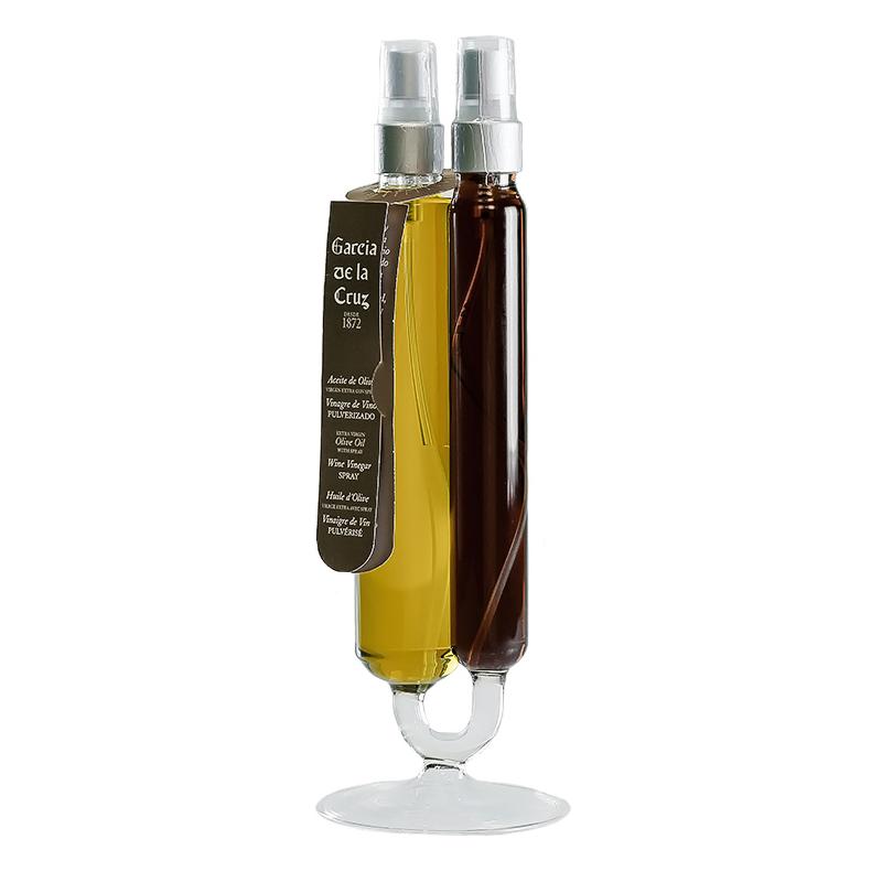BICILÍNDRICO AOVE 140 ml y VINAGRE 60 ml