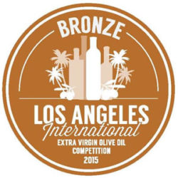 "Medalla de Bronce ""Los Ángeles International Olive Oil Competition 2015"""