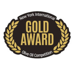 "Gold Medal ""New York Olive Oil Competition 2015"""