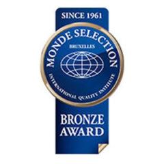 """Bronze Medal """"Monde Selection 2016"""""""