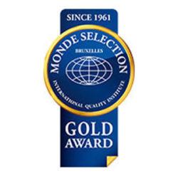 "Gold Medal ""Monde Selection 2016"""