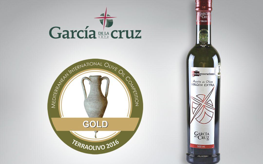 Medalla de Oro para nuestro aceite 5 Generaciones en el concurso TerraoOlivo de Jerusalén.