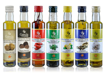 AROMATIC EXTRA VIRGIN OLIVE OILS