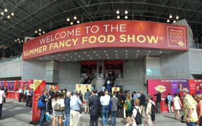 García de la Cruz visita la Summer Fancy Food Show.