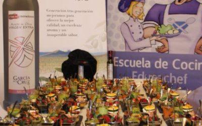 Aceites Garcia de la Cruz colabora en la primera experiencia gastronomica junto con The Singular Kitchen y Educachef