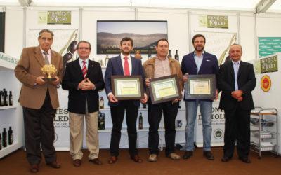 Premio al mejor Aceite Virgen Extra Cornicabra 2013, Premio Maestro Molinero 2013 Premio Olivo de Oro en variedad Cornicabra 2013.