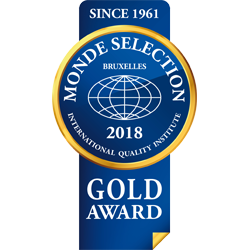 Monde Selection – Medalla de Oro 2018