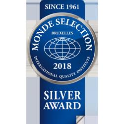 Monde Selection- Medalla de Plata 2018