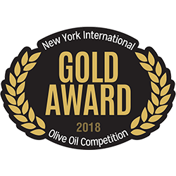 New York Olive Oil Competition- Medalla de Oro 2018