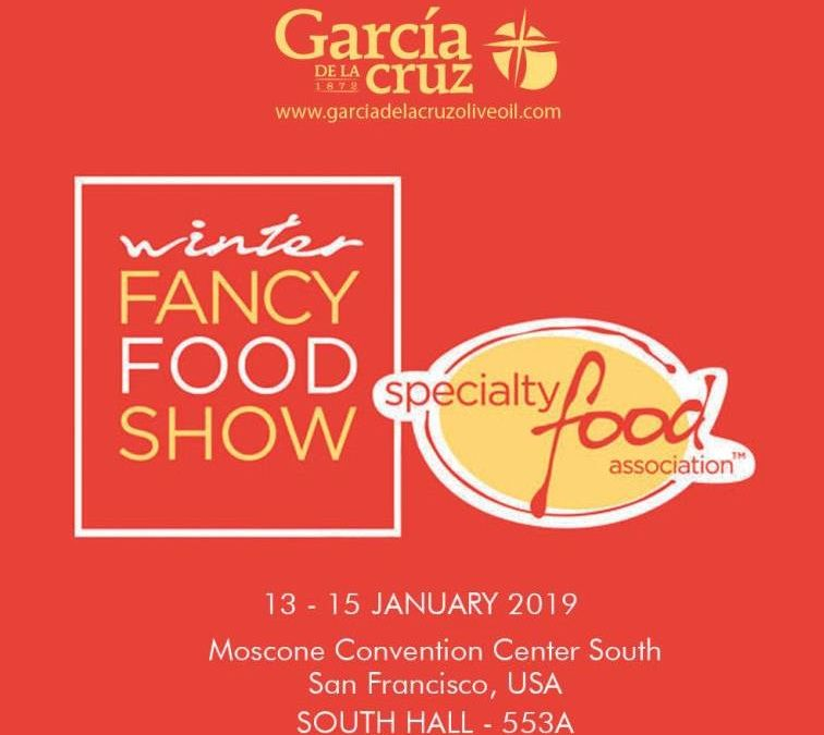 GARCÍA DE LA CRUZ EN LA WINTER FANCY FOODS 2019.