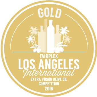 "Gold Medal Master Miller ""LA International Olive Oil Competition 2019""."
