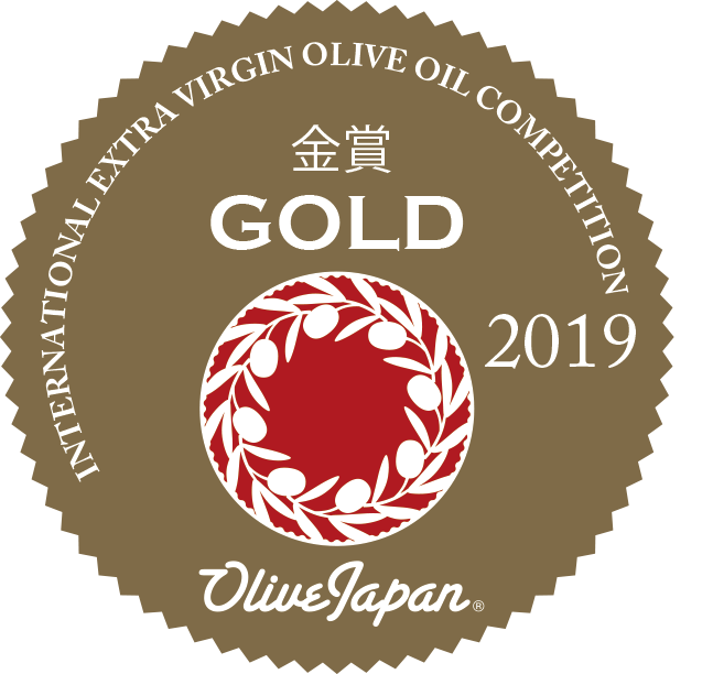 """International Olive Oil Japan 2019"".  Gold Medal Master Miller 500 ml"