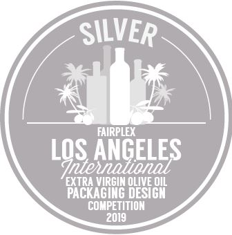 "Silver Medal to the design of Master Miller ""LA International Olive Oil Competition 2019""."